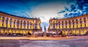 Фонтаны и площади Рима
