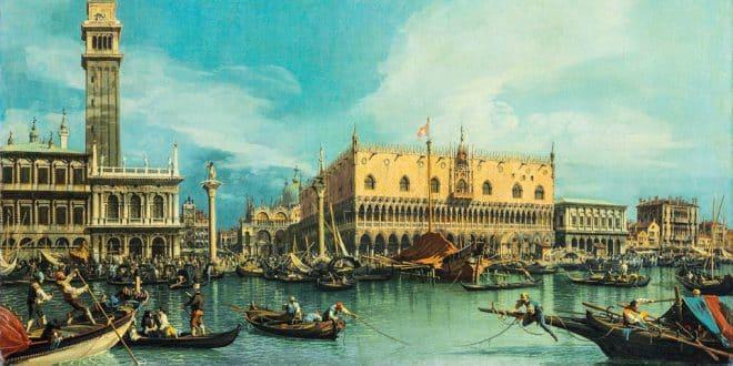история Венеции и возникновения города на воде