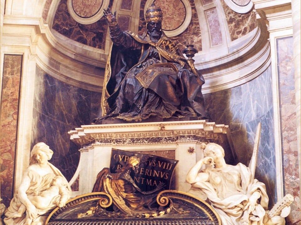 Надгробие папы Урбана VIII