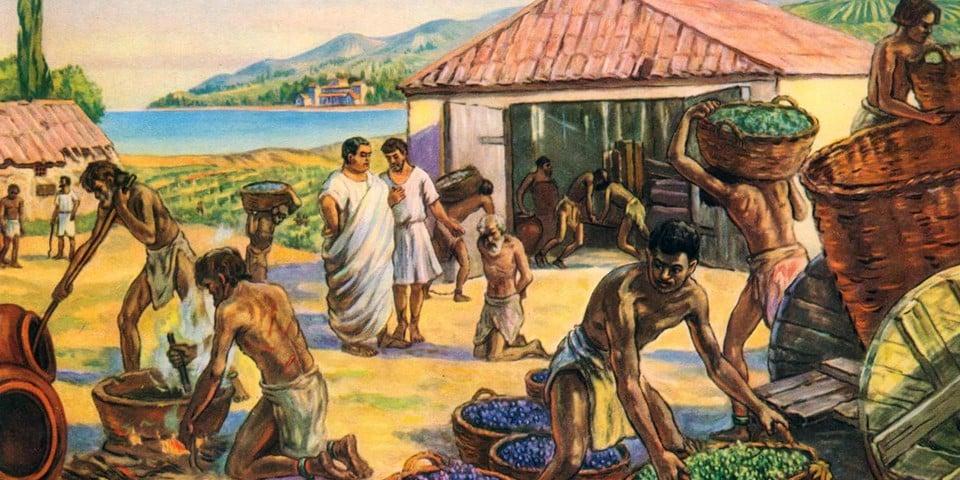 Сексуальные отношения с рабами в древней греции и древнего рима