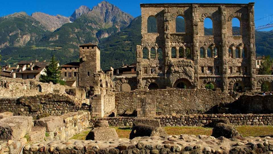 Римский театр, Аоста