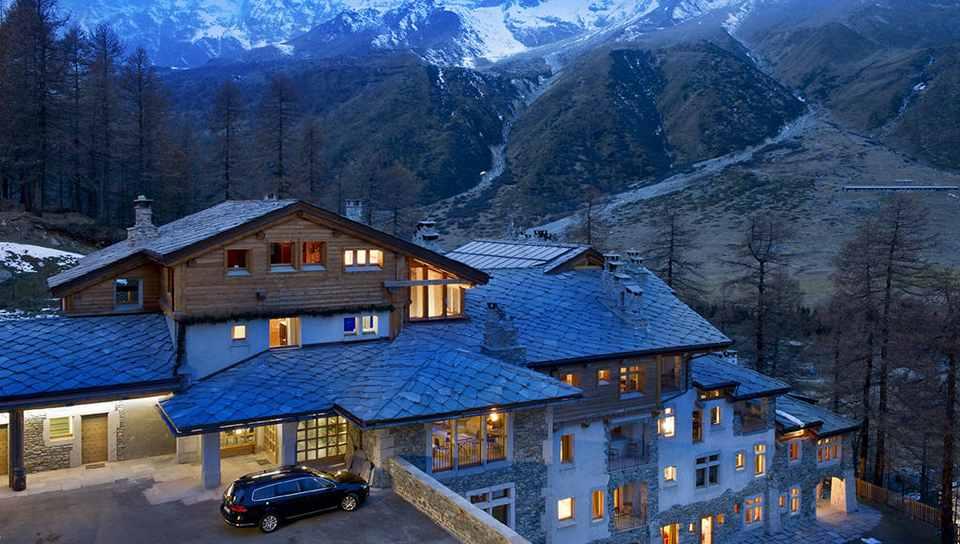 Отель-курорт Saint Hubertus