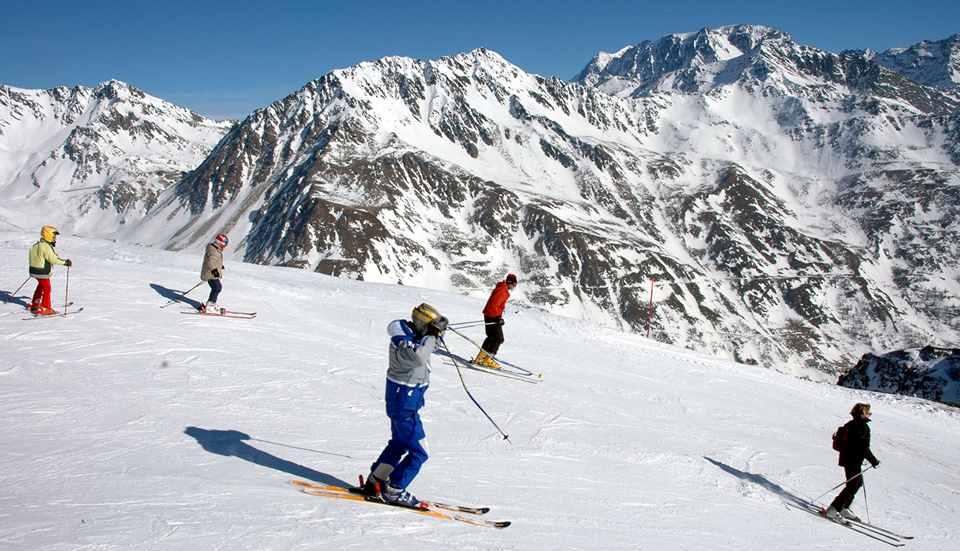 горнолыжный курорт Валле д'Аоста