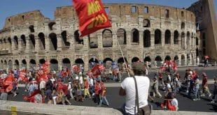 Забастовки в Италии