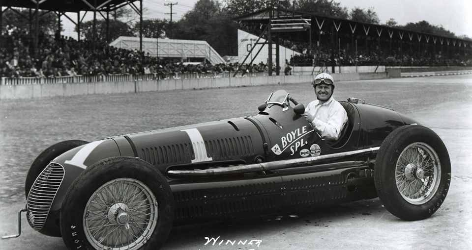 «Maserati» на гонках в Индианаполисе