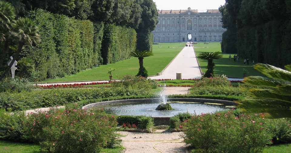парк в Казерта