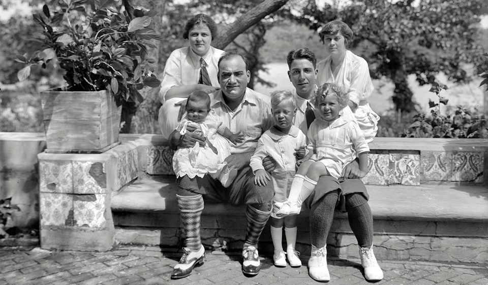 Семья Энрико Карузо