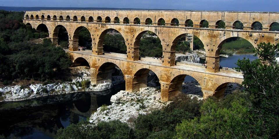 Акведуки и вода в древнем Риме