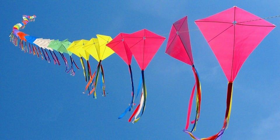 фестиваль воздушных змеев «Цветные небеса»