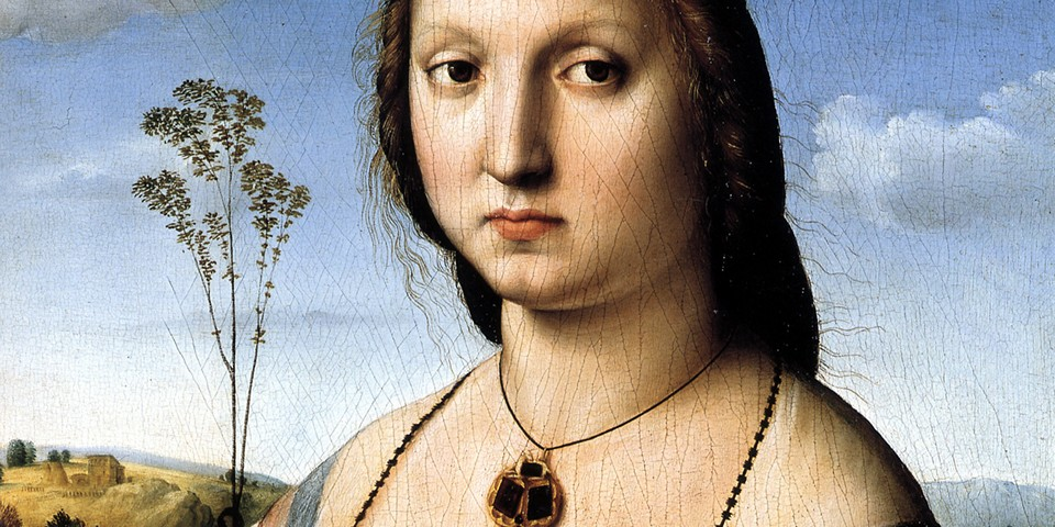 портрет Маддалены Дони