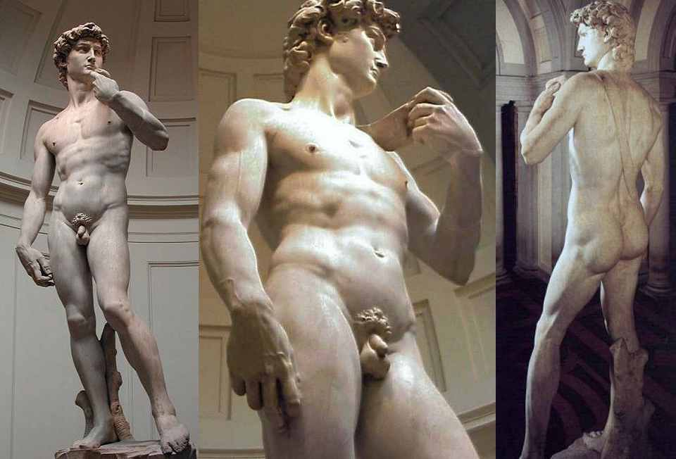 Скульптура Микеланджело «Давид»