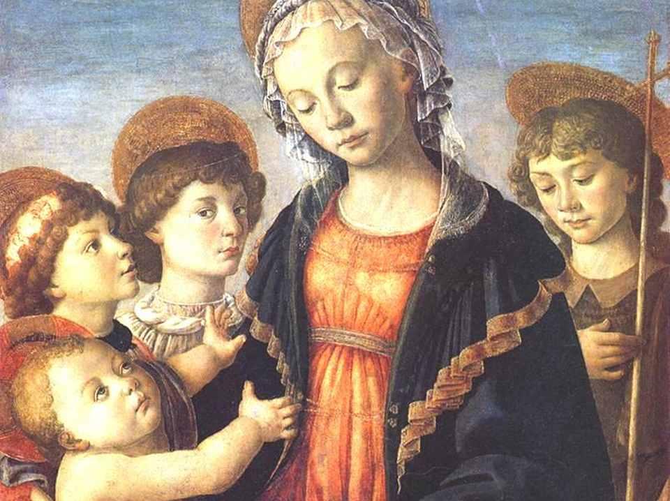 «Мадонна с младенцем, двумя ангелами и Иоанном Крестителем»