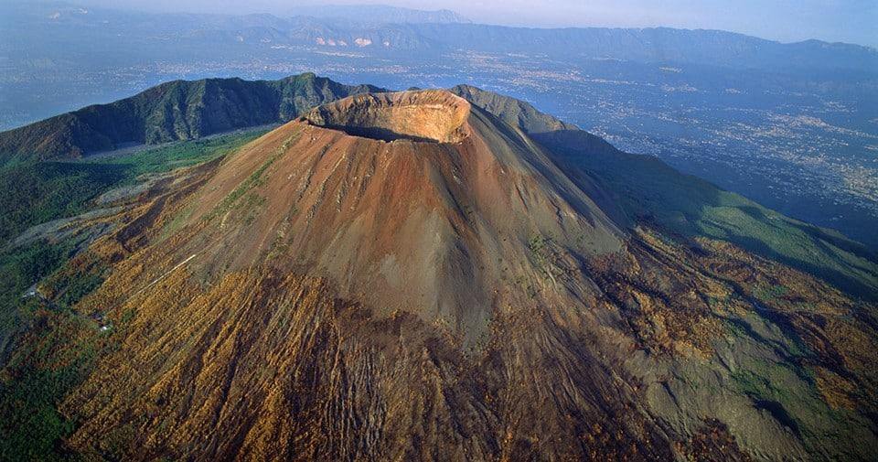 вулкан Везувия