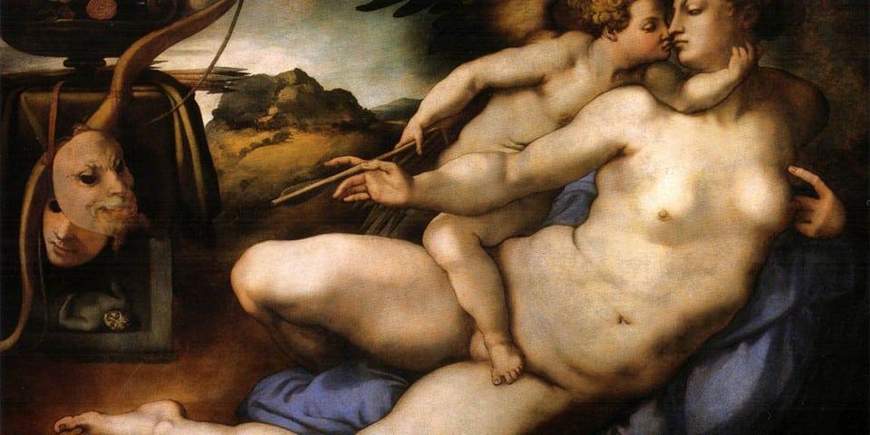 Картон «Венера и Амур»