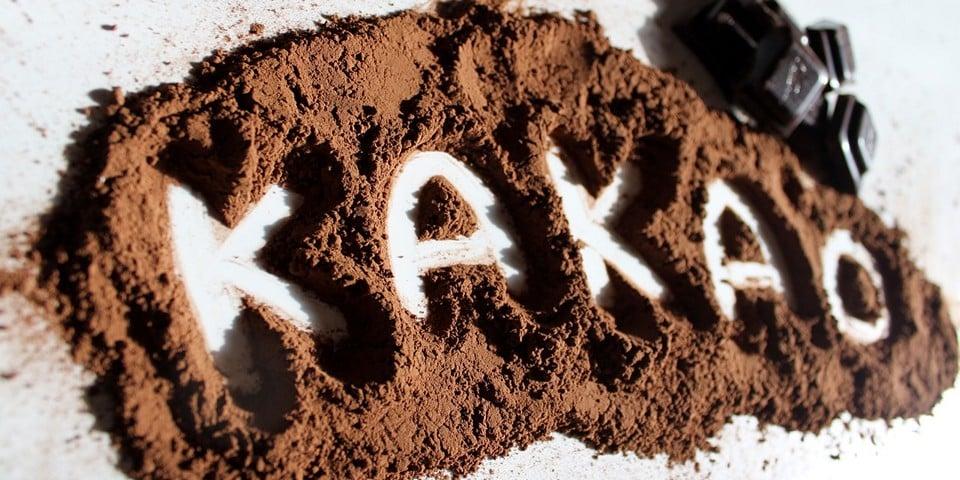 какао в нутелле