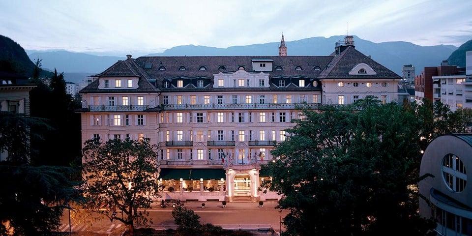 Отель Parkhotel Laurin