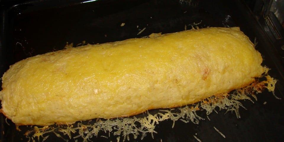 рулет из картофеля