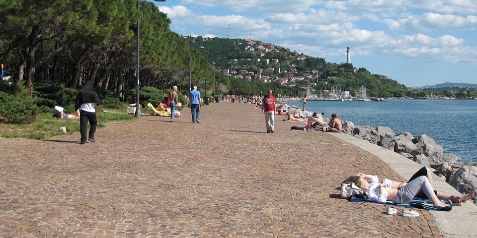 Пляж Триеста