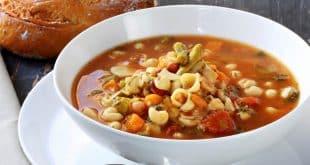 Минестроне – классический итальянский овощной суп