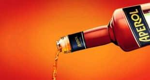 Апероль – итальянский аперитив красно-оранжевого цвета