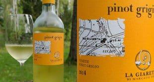 Белое сухое вино Пино Гриджио