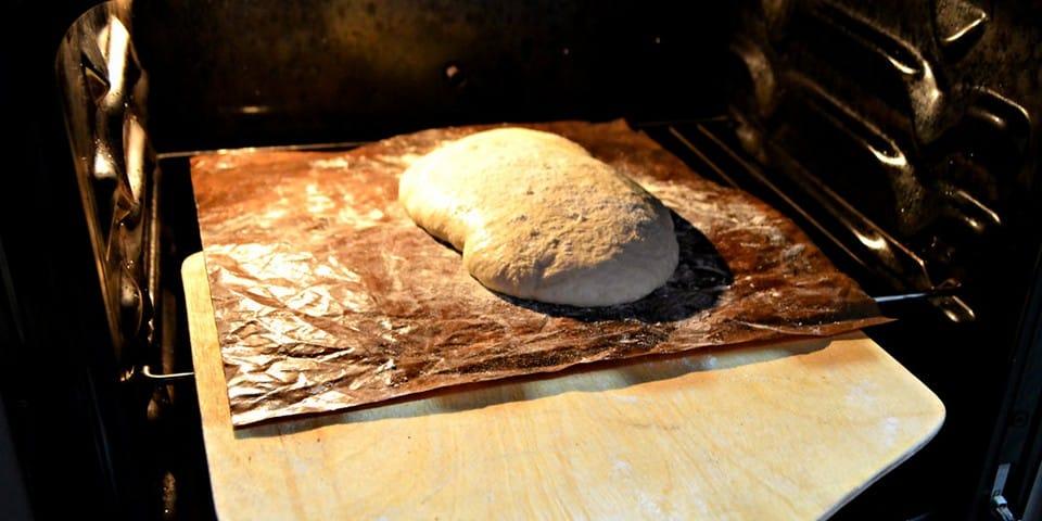 Чиабатта в духовке