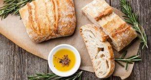Итальянский белый хлеб Чиабатта