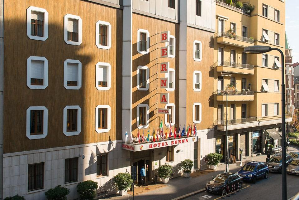 Отель 4 звезды рядом с вокзалом в Милане Hotel Berna