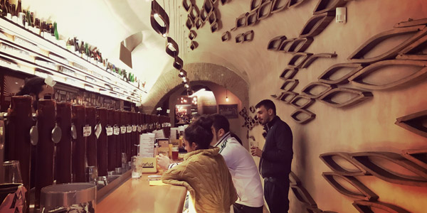 Bir & Fud пивной крафтовый бар в Трастевере