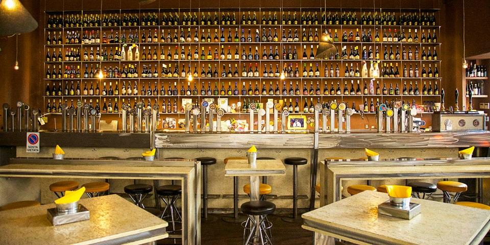 Open Baladin первый крафтовый пивной бар в Риме