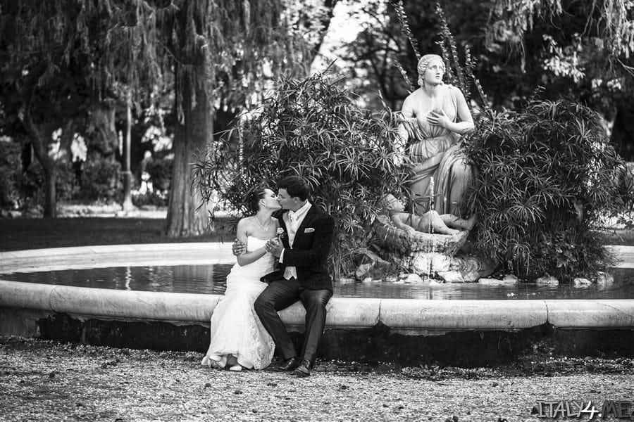 Свадебное путешествие в Рим - фотограф в Италии Артур Якуцевич