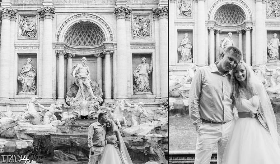 Фонтан де Треви в Риме