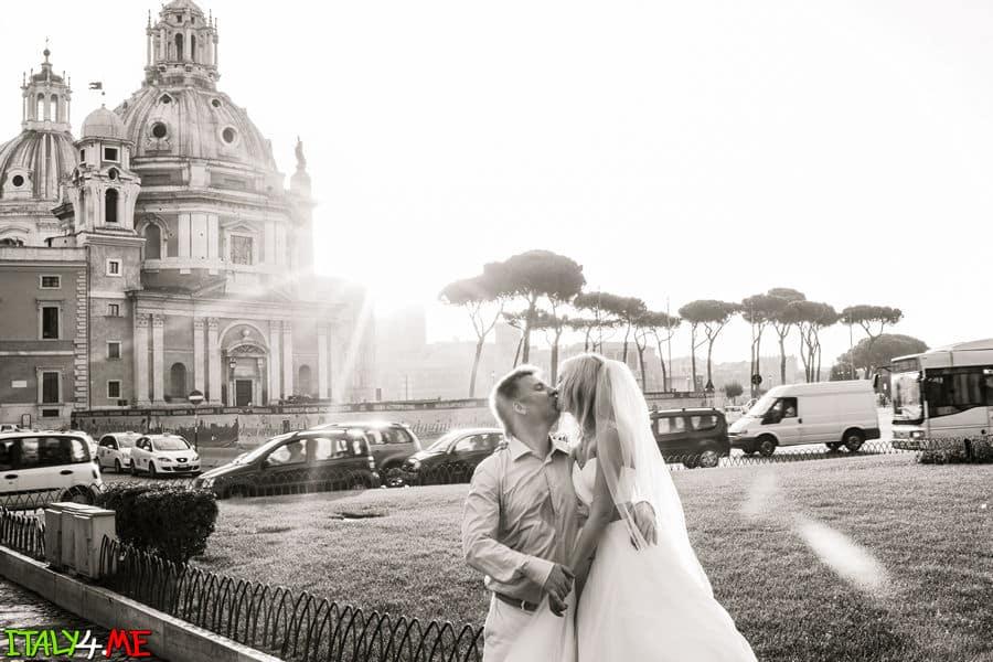 Фотосессия в Риме утром - фотограф в Италии Артур Якуцевич