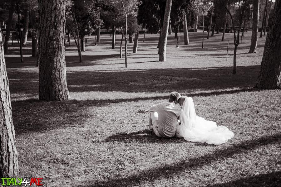 Вилла Боргезе - свадебное путешествие в Рим