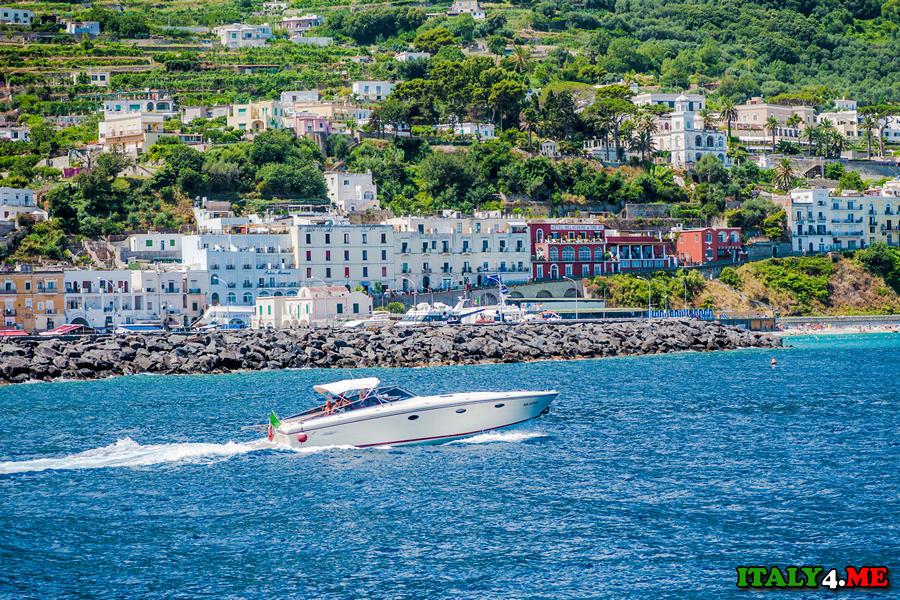 Капри отдых на море в Италии