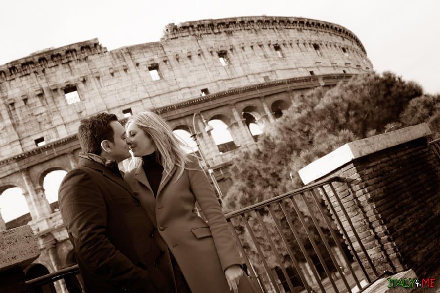 Фотосессия в Риме - Колизей, главная достопримечательность Италии