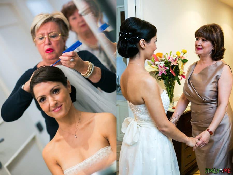 Итальянская свадьба Массимо и Паолы - подготовка