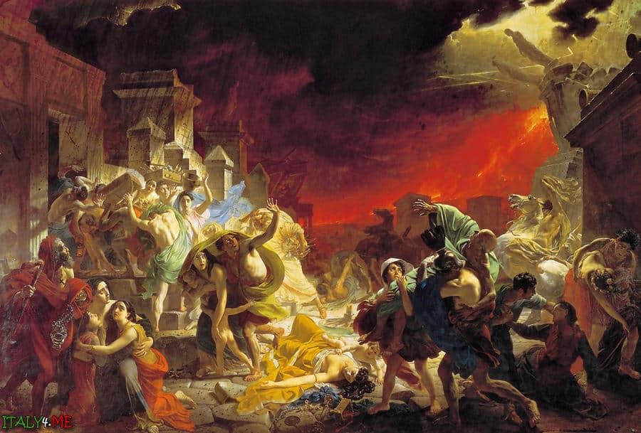 Картина Последний День Помпеи художника Брюллова