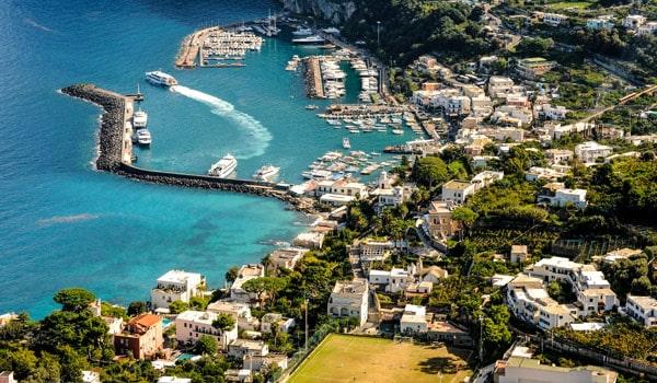 отдых на острове Капри
