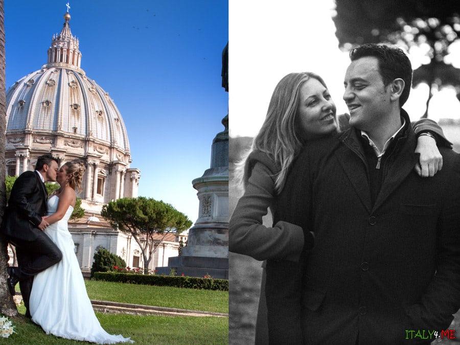 Свадьба в Риме  - фотограф Иван Люминария
