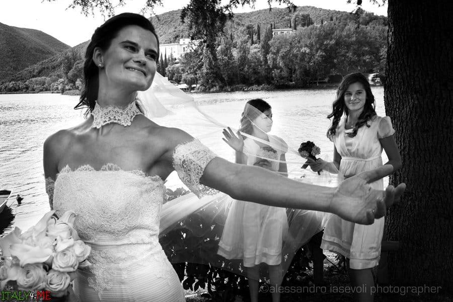 Красивая свадебная фотосессия в Италии