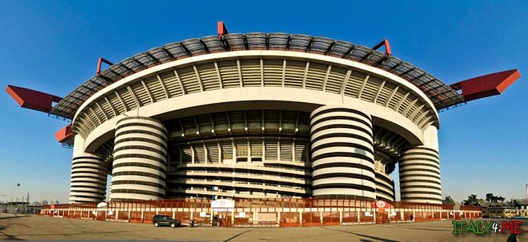 Стадион Джузеппе Меацца в Милане