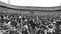 Концерт Боба Марли на стадионе Сан Сиро в 1980 году