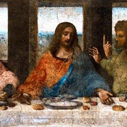 Тайная вечеря образ Христа