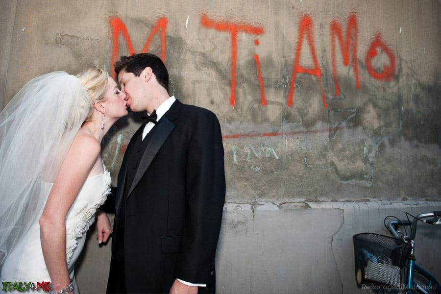 Фото влюбленных в Риме