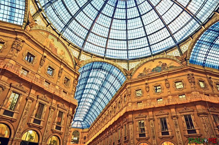 Галерея Витторио Эммануэле в Милане