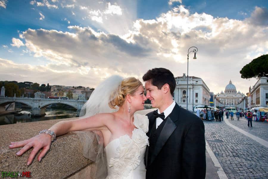 Романтические фотографии в Риме