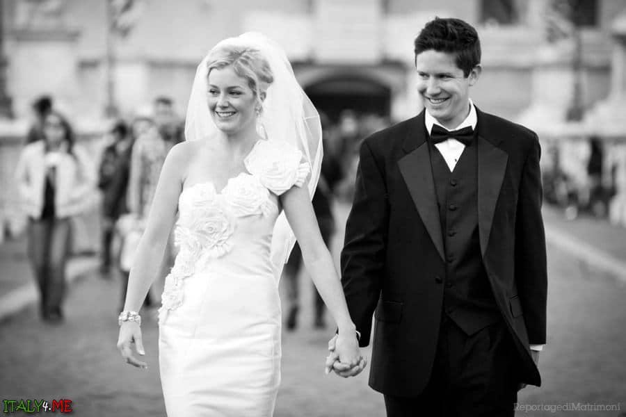 Свадебная фотосессия в Риме - фотограф Лука Панвини