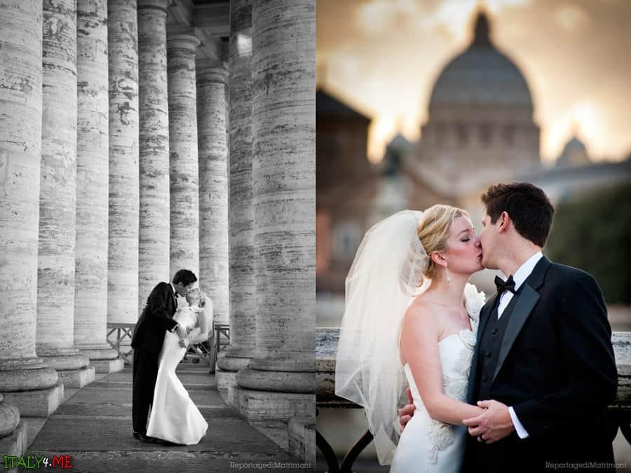 Свадебное фото в Ватикане