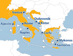 Отдых в Италии - круиз в августе и сентябре на лайнере Атлантис